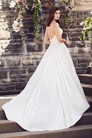 silk a line wedding dress style 4730 paloma blanca