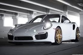 porsche white car white porsche 911 turbo s adv05s track spec cs series wheels