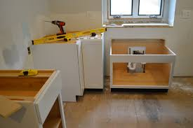 installing kitchen cabinet base cabinet installation guide at