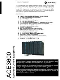 ace3600 spec apr09 power supply battery charger