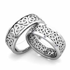 celtic wedding sets matching wedding bands for him and my wedding ring