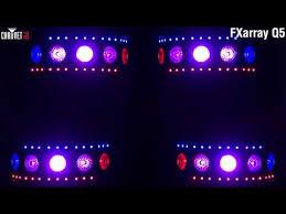 chauvet dj fxarray q5 effect light chauvet fxarray q5 multi effect led disco light youtube