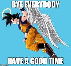 Goku Memes - angel goku meme generator imgflip