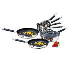 cuisine en batterie de cuisine batterie de cuisine 7 pièces rapid cook mathon batteries de