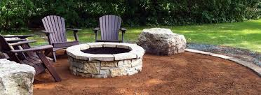 Landscape Fire Pits by Fire Pits And Outdoor Fireplaces