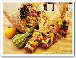 thanksgiving crafts to make indian corn place cards