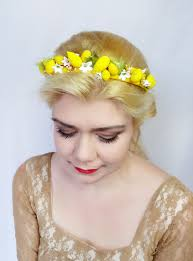 women s hair accessories dolce vita handmade lemon headband womens headbands yellow