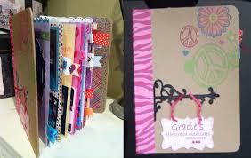 Small Scrapbook Album How To Make A Mini Scrapbook Album Gracie U0027s 4th Grade