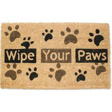Welcome Mat Wipe Your Paws Buy Wipe Your Paws From Bed Bath U0026 Beyond