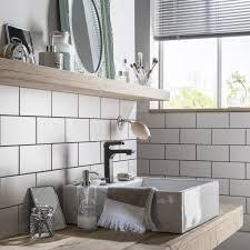 cuisine avec carrelage metro cuisine avec carrelage metro 14 fa239ence mur blanc blanc