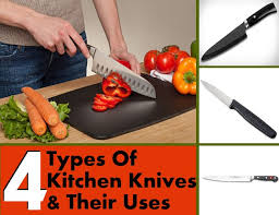 different types of kitchen knives and their uses list of kitchen knives and their uses diy martini