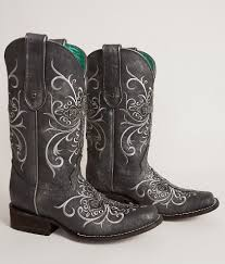 womens size 11 square toe cowboy boots corral beaded square toe cowboy boot s shoes in grey buckle