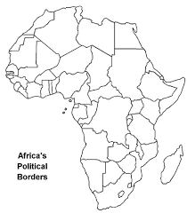 africa map test history 312 africa since 1875 map study list