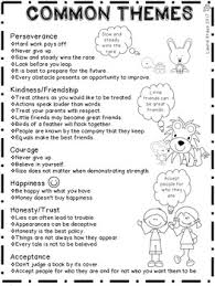 story themes about friendship theme engaging activities to identify the theme of a story by