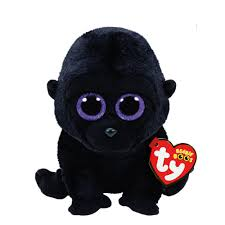 ty beanie boo small george gorilla soft toy claire u0027s