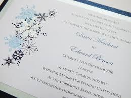 Christmas Wedding Invitations Snowflake Wedding Invitation Christmas Wedding Invitation Uk