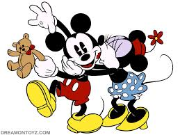classics clipart mickey minnie pencil and in color classics