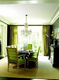 Modern Dining Room Ideas Fresh Green Paint In Modern Dining Room With Chandelier Green