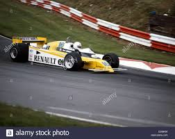 renault 1980 rene arnoux racing a renault re20 british grand prix brands