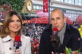 nbc viewers trash matt lauer for thanksgiving parade hosting
