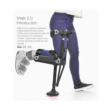 Walking Up Stairs With Crutches by Iwalk 2 0 Hands Free Crutch Free Shipping