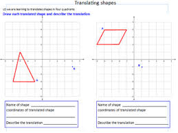 translating shapes ks2 ks3 by araine teaching resources tes