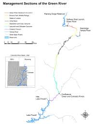 Green River Utah Map by Western Confluence The Forgotten River
