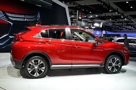 new mitsubishi eclipse new mitsubishi eclipse cross lands in la with a 23 295 price tag