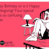 thanksgiving for happy birthday divascuisine