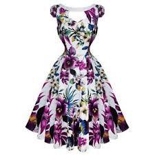 vintage floral dress ebay