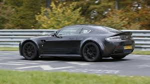 aston martin vantage 2017 mysterious aston martin vantage prototype spied is it a mule for