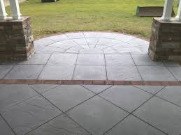 Faux Stone Patio by See Our Services