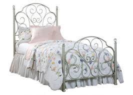 hailey twin metal bed bedroom