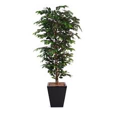 artificial office tree ficus plant for work places