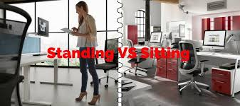 Standing At Your Desk Vs Sitting Standing Vs Sitting Office Desks Which One Is Better For Your Health