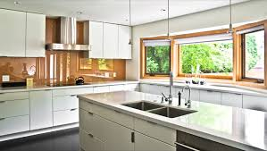 Glass Kitchen Countertops Tempered Glass Countertop Kitchen Contemporary With Granite