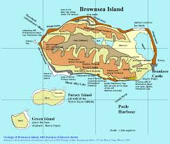 Lake Alan Henry Map Geology Of Brownsea Island Guide By Dr Ian West