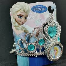 frozen light up crown tiara blue elsa halloween costume theater