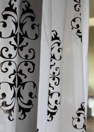 Curtains Printed Designs Screen Printed Drapes Pillows A Tutorial Hackshaw