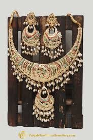 multi pearl necklace images Multi jadau pearl necklace set by punjabi traditional jewellery jpg
