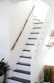 Home Interior Staircase Design by Best 25 Wood Handrail Ideas On Pinterest Modern Staircase