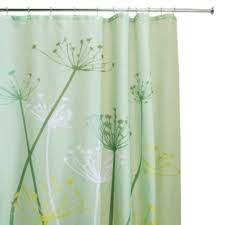 green shower curtains with leopard picture animal theme bathroom