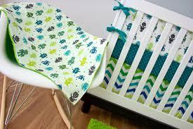 robot crib bedding cribset custom nursery baby bedding