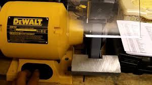 dewalt dw756 bench grinder u0026 echo cs3450 chainsaw youtube