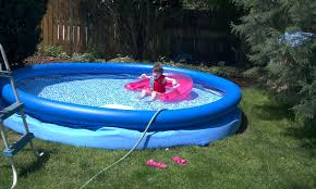 inflatable pool u2014 home landscapings blow up swimming pools with