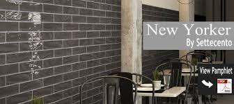 Tile Backsplash Ideas For Kitchen New Yorker By Settecento Kitchen Backsplash Ideas