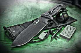 Frontier Carry On by New Bushcraft Survival Knife Schrade Schf52m Frontier