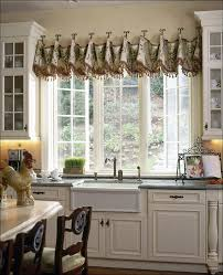 Kitchen Curtains Lowes Kitchen Custom Kitchen Valance Kitchen Window Roman Shade