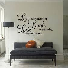wall ideas design beautiful grey inspirational quotes wall