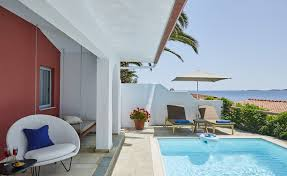 bungalows with private pool halkidiki bungalows greece